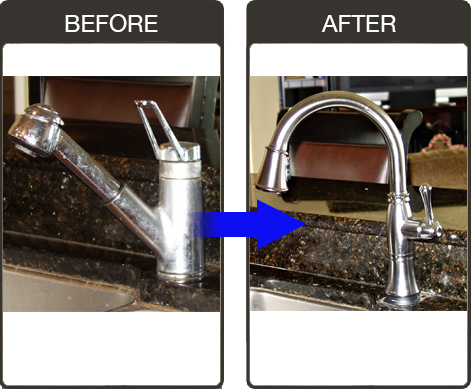Kitchen Faucet Replacement